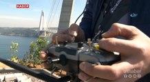 Drone'lar Yavuz Sultan Selim Köprüsü'nde yarıştı