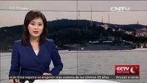 Aumenta la crispación en Turquía después del paso de un barco de guerra ruso