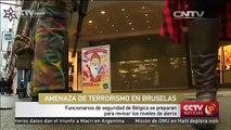 Funcionarios de seguridad de Bélgica se preparan para revisar los niveles de alerta