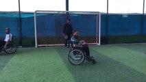 Engelli Kalan Suriyeliler, Futbol ile Moral Buluyor - Hatay