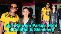Alia- Ranveer Parties Hard in Colorful & Shimmery | Gully Boy Wrap up Party