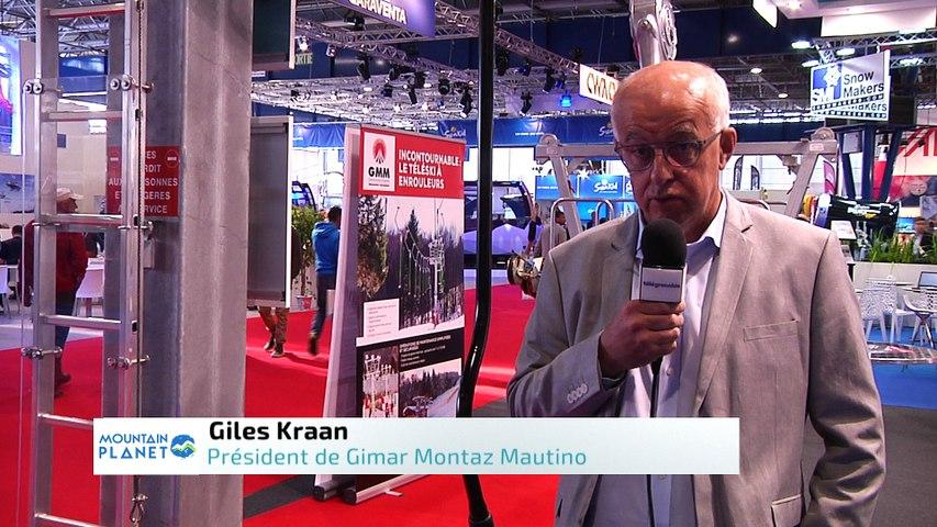Mountain Planet 2018 - Interview de Giles Kraan