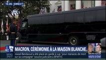 Plusieurs ministres dont Bruno Le Maire, Jean-Michel Blanquer et Jean-Yves Le Drian arrivent à la Maison-Blanche