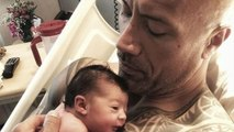 The Rock Welcomes Third Daughter With Empowering Message