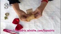 Como hacer un moño navideño con flor dorada paso a paso