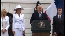 L'hommage de Trump à Arnaud Beltrame