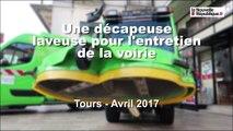 VIDEO. Tours : une nouvelle machine propreté
