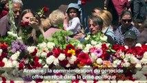 Arménie: commémoration du génocide,répit dans la crise politique