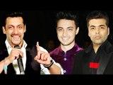 Salman Khan और Karan Johar साथ आकर Aayush Sharma को Bollywood में करेंगे Launch?