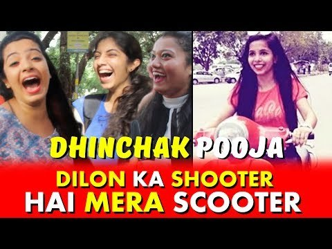 Dilon Ka Shooter Hai Mera Scooter   Public Hilarious Reaction On Dhinchak Pooja's Song