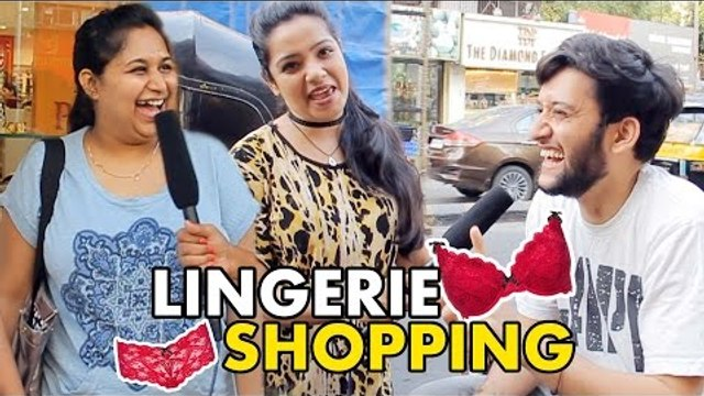Which Is Your Favorite Kind Of Bra ? Men REACTS On Women's Lingerie Shopping