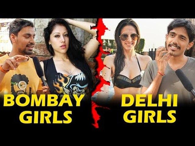Mumbai Girls Vs Delhi Girls | Who Is More HOT | Being Insane