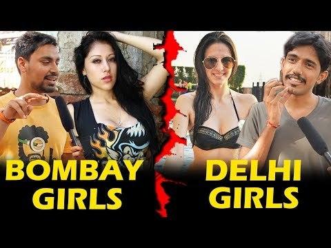 Mumbai Girls Vs Delhi Girls   Who Is More HOT   Being Insane