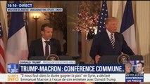 """Corée du Nord: """"je veux qu'ils se débarrassent de leurs armes nucléaires"""", souligne le Président américain"""