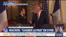 """Trump sur Macron: """"Je pense que la France va atteindre de nouveaux sommets grâce à ce Président"""""""
