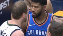 Paul George & Joe Ingles CUSS Each Other Out Sparking The Best Playoff Feud!