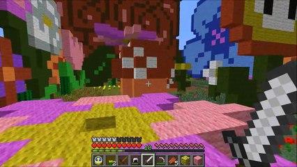 166.Minecraft- Alice in Wonderland (Custom Map) - Part 2