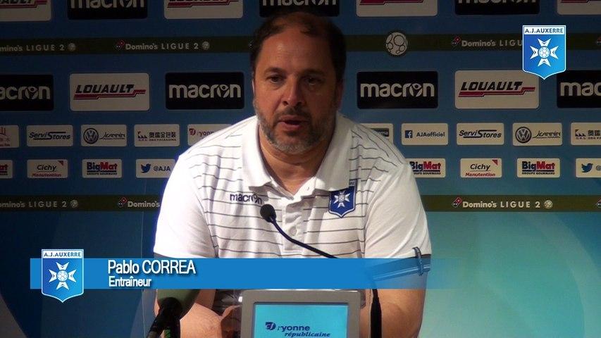 Réactions de Pablo Correa et Evan Ndicka après AJA - REIMS (1 - 4)