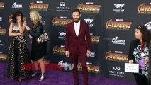 "Ross Marquand ""Avengers Infinity War"" World Premiere Purple Carpet"