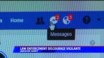 Law Enforcement Discourage Vigilante from Confronting Men He Believes are Child Predators