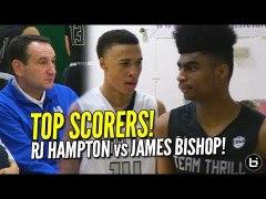 RJ Hampton vs James Bishop Duke watches UAA Top Scorers in D