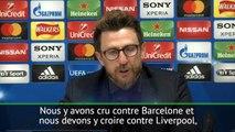 """Demie - Di Francesco : """"Nous y avons cru contre Barcelone, nous y croirons contre Liverpool"""""""