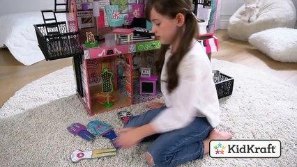 Brooklyns Loft Dollhouse Toy demo by KidKraft