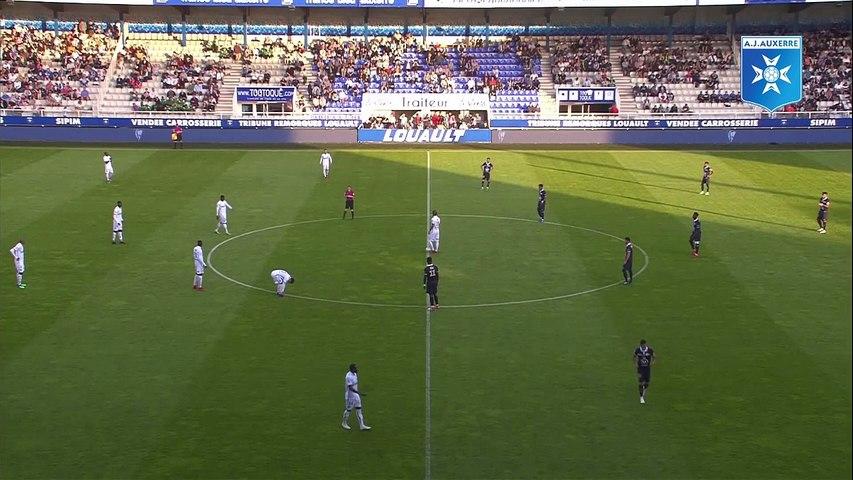 Résumé de AJ Auxerre - Stade de Reims (1 - 4)