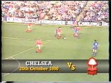 Chelsea - Nottingham Forest 20-10-1990 Divison One