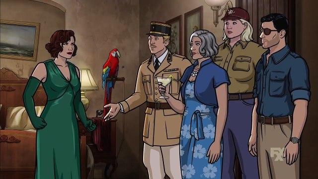 Archer Season 9 Episode 1 - Danger Island - Strange Pilot - FXX HD 9x1
