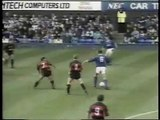 Everton - Queens Park Rangers 03-11-1990 Division One