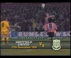 Tottenham Hotspur - Norwich City 24-11-1990 Division One