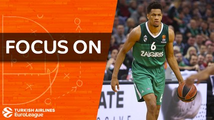 Axel Toupane brings French flair to Zalgiris