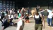 Contact improvisation au Musée de la danse
