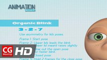 """How to Animate Character Eye Blinks"" by Ugur Ulvi Yetiskin | Animation Tutorial | CGMeetup"