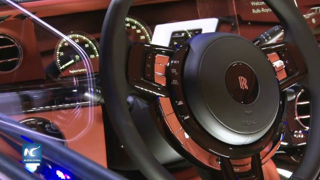 New Rolls Royce Phantom, una galería de lujo rodante