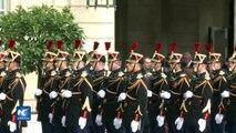 Emmanuel Macron juró como nuevo jefe de Estado de Francia