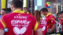 Liga española de futbol, ejemplo de las relaciones bilaterales España China