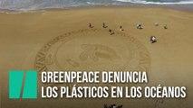 Greenpeace denuncia los plásticos en los océanos