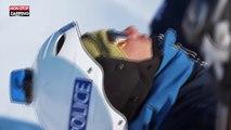 Ski : course poursuite entre des policiers et... un VTT (vidéo)