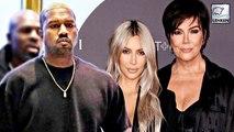Kanye West Has Huge Fight With Kim Kardashian & Kris Jenner