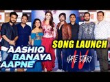 Aashiq Banaya Aapne Song Launch | Hate Story 4 | FULL VIDEO | Urvashi Rautela
