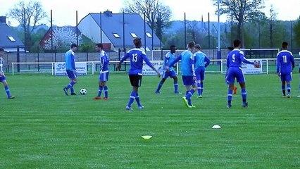 Préparation Match U17 JA1 - FC TINTENIAC