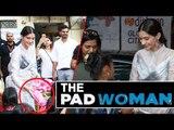 Sonam Kapoor ने School की लड़कीओ में बाटे Sanitary Pads । Padman प्रमोशन