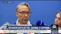 """""""Ma porte est toujours ouverte"""", affirme la ministre des Transports après la réunion boycottée par les syndicats de la SNCF"""