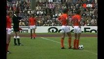 Футбол Чемпионат мира 1974 года Финал Германия - Голландия 1 тайм