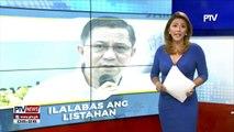 #PTVNEWS: Kumpirmadong druglist ng brgy. officials, isasapubliko ng PDEA