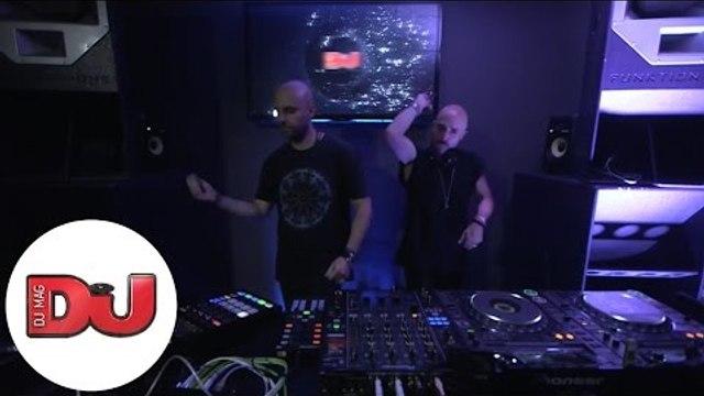 Uner B2B Technasia Live DJ Set from DJ Mag HQ