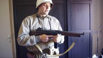 AIRSOFT - Thompson M1A1 Marui video review