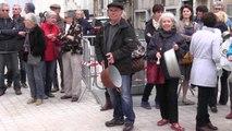 VIDEO.  Poitiers : manifestation contre la création de bassines
